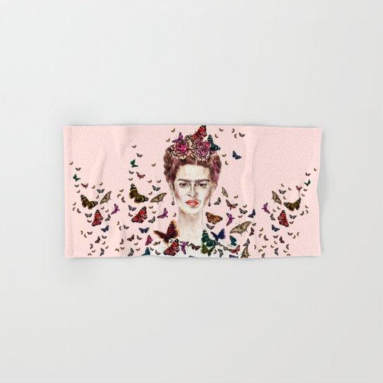 Frida Kahlo - Mexico Hand & Bath Towel
