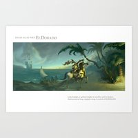 EL DORADO pt.1 Art Print