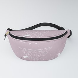 Christmas Trees Pink Fanny Pack