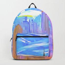 Manhattan Pop Art Backpack