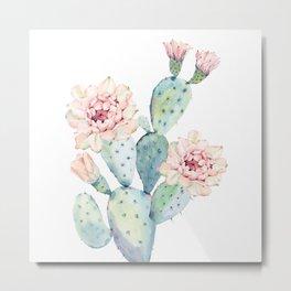 The Prettiest Cactus Metal Print