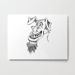 Underbite Troll Metal Print