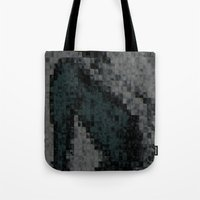 naked Tote Bags featuring Naked by Maria Julia Bastias