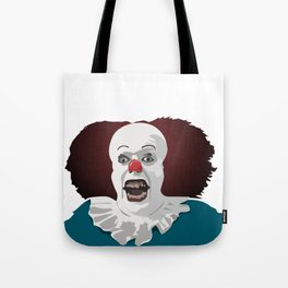 Cool party Clown Face Tote Bag