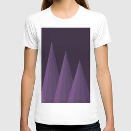 Geometric Purple T-shirt
