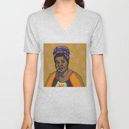 Maya Angelou Unisex V-Neck
