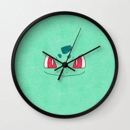 Bulba Saur! Poke man Wall Clock