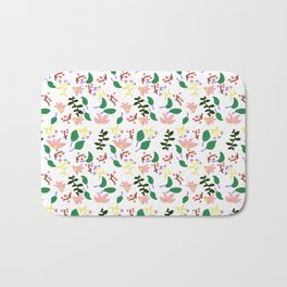 Might As Well Be Spring Pattern (Fixed) Bath Mat