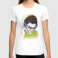 dj T-shirts featuring DJ  by Vivian Gerber