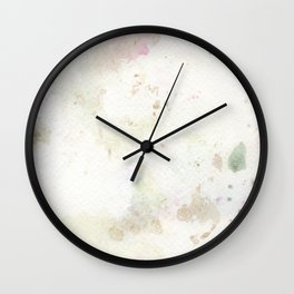 Polka Dot Rain Drops Wall Clock