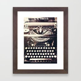 aging gracefully Framed Art Print