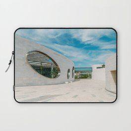 Champalimaud Foundation Centre For The Unknown, Wall Art Print, Modern Architecture Art Laptop Sleeve