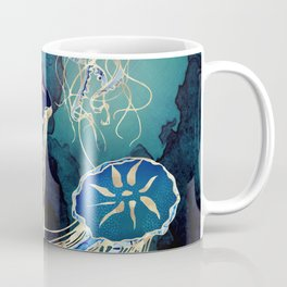 Metallic Jellyfish III Coffee Mug