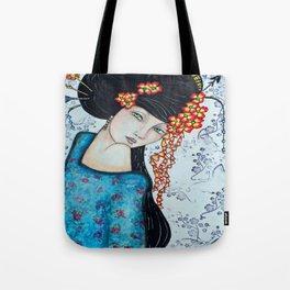 Geisha Girl #2 Tote Bag
