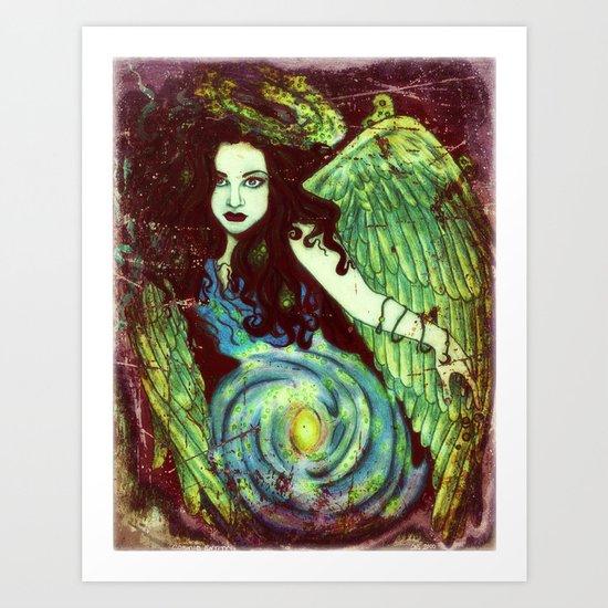 Cosmic Entity Art Print