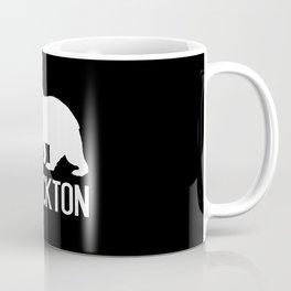 Stockton and California Bear Coffee Mug