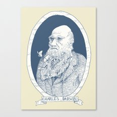 By Darwin's Beard Canvas Print
