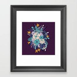 Jungle Bouquet 002 Framed Art Print