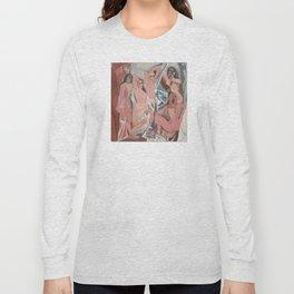 Pablo Picasso - Les Demoiselles d'Avignon Long Sleeve T-shirt