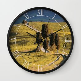 Postcard from Italy Wall Clock