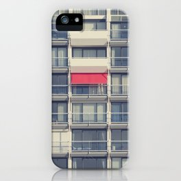 Red Awning iPhone Case