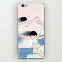 rush iPhone & iPod Skins featuring RUSH by RUEI