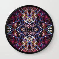 baphomet Wall Clocks featuring Baphomet 6 by Kevin Kolstad