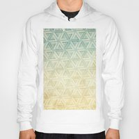 escher Hoodies featuring escher pattern by Vin Zzep