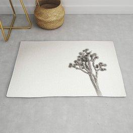 Joshua Tree in Black & White Rug