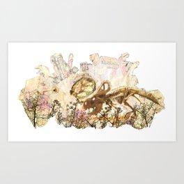 Semisaurus Art Print
