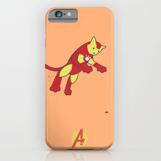 The Invincible IronCat iPhone & iPod Case