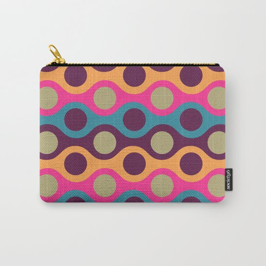 Chain of Colors Carry-All Pouch