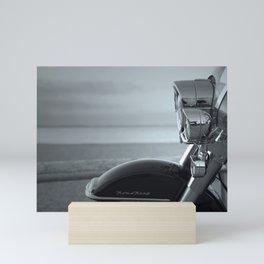 American motorcycle. Mini Art Print