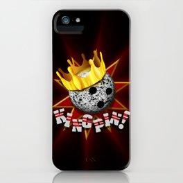 KINGPIN! iPhone Case