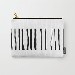 Organic No.12 Black & White #design #society6 #artprints Carry-All Pouch