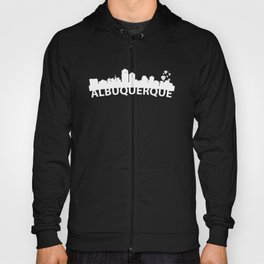 Curved Skyline Of Albuquerque NM Hoody