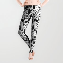 Yule, Birth of the Sun - Black Leggings