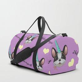 French Bulldog Unicorn Duffle Bag