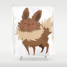 Jolteon Shower Curtain
