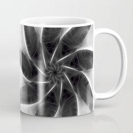 Gray Kaleidoscope Art 6 Coffee Mug