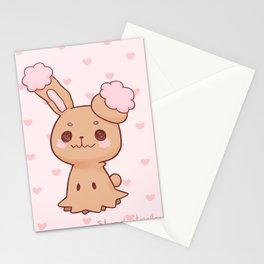 buneary mimikyu Stationery Cards