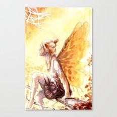 Autumn faery Canvas Print