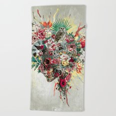 SKULL IV Beach Towel