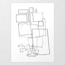 Line01 Art Print