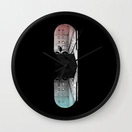 traveling pill Wall Clock