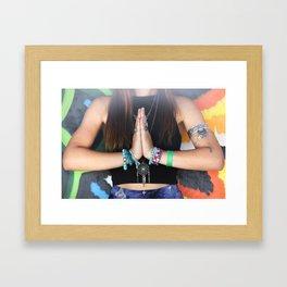 Hippie Tuesday Framed Art Print