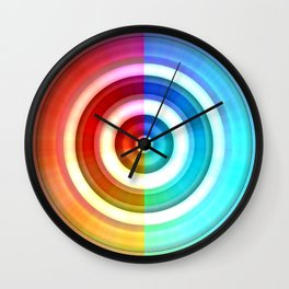 Colorcircle Wall Clock
