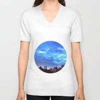 atlanta V-neck T-shirts featuring Atlanta.  by calvin./CHANCE