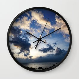 Drama In The Sky Vietnam Wall Clock