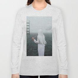 All white Long Sleeve T-shirt